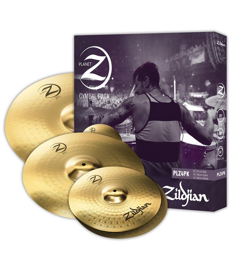 Billede af Zildjian PLZ4PK Planet Z 14/16/20 Pack bækkener