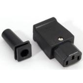 Billede af Strøm Stik IEC Apparat Hun (1 stk.)