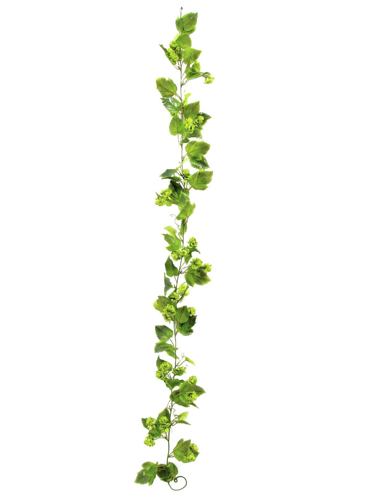Billede af Kunstig Blomster Krans 170cm