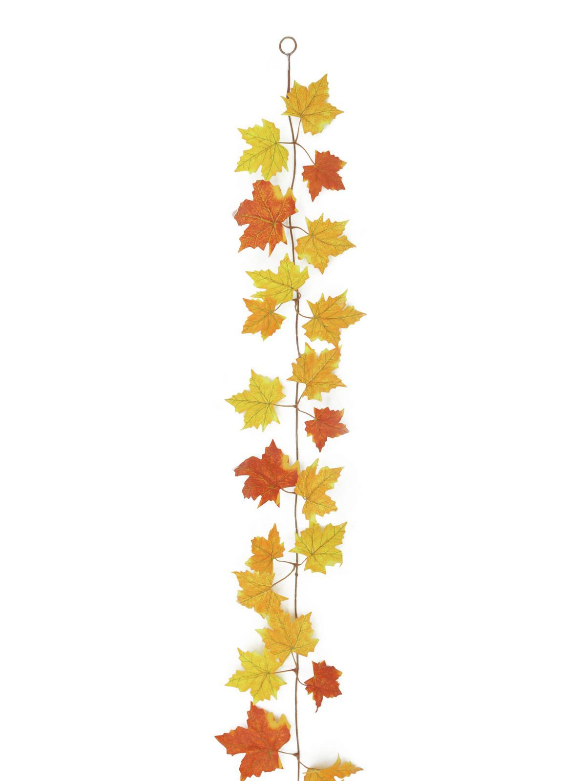Billede af Kunstig Autumn-garland, yellow, 180cm