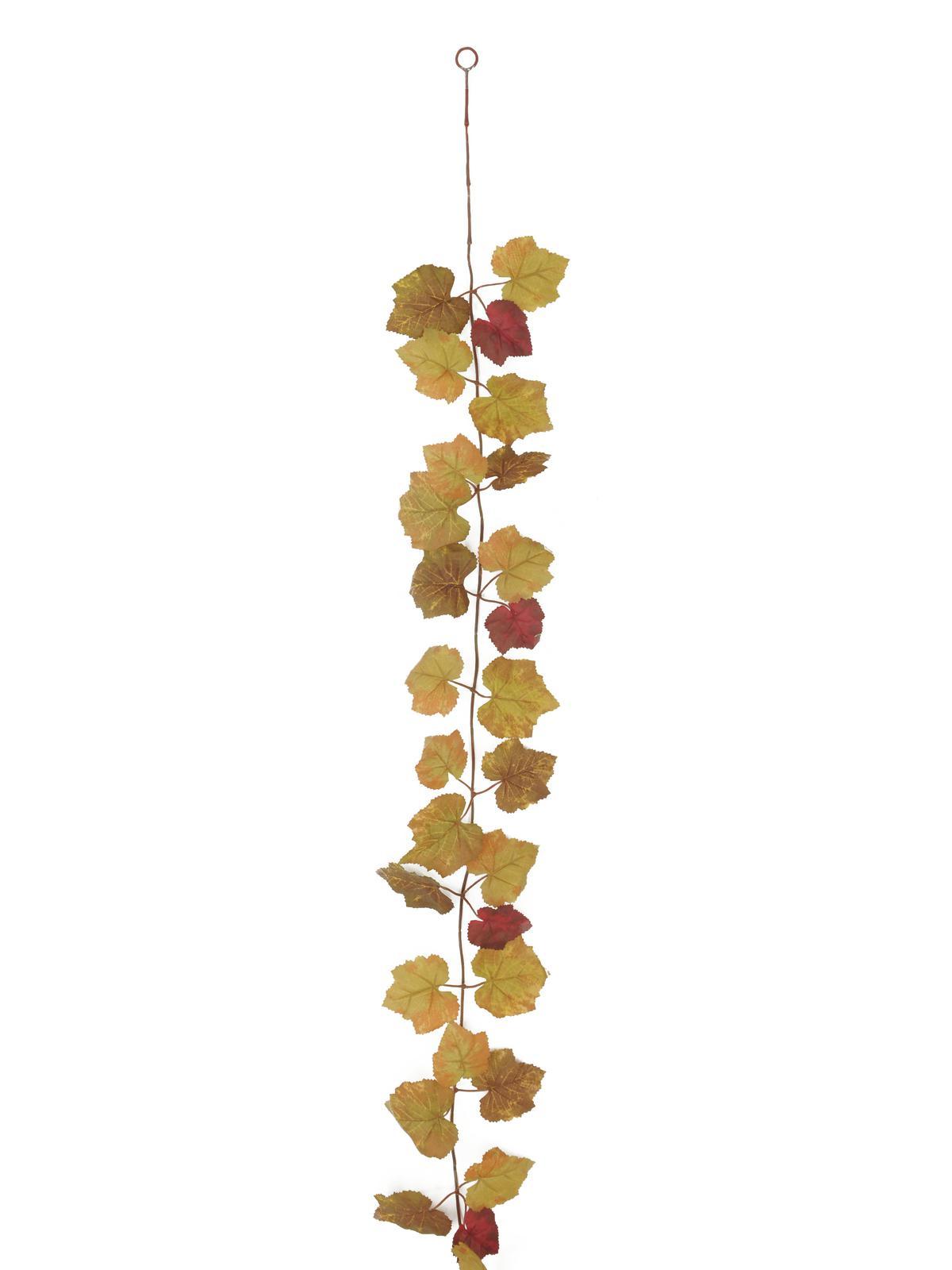 Billede af Kunstig Autumn-garland, brown, 180cm