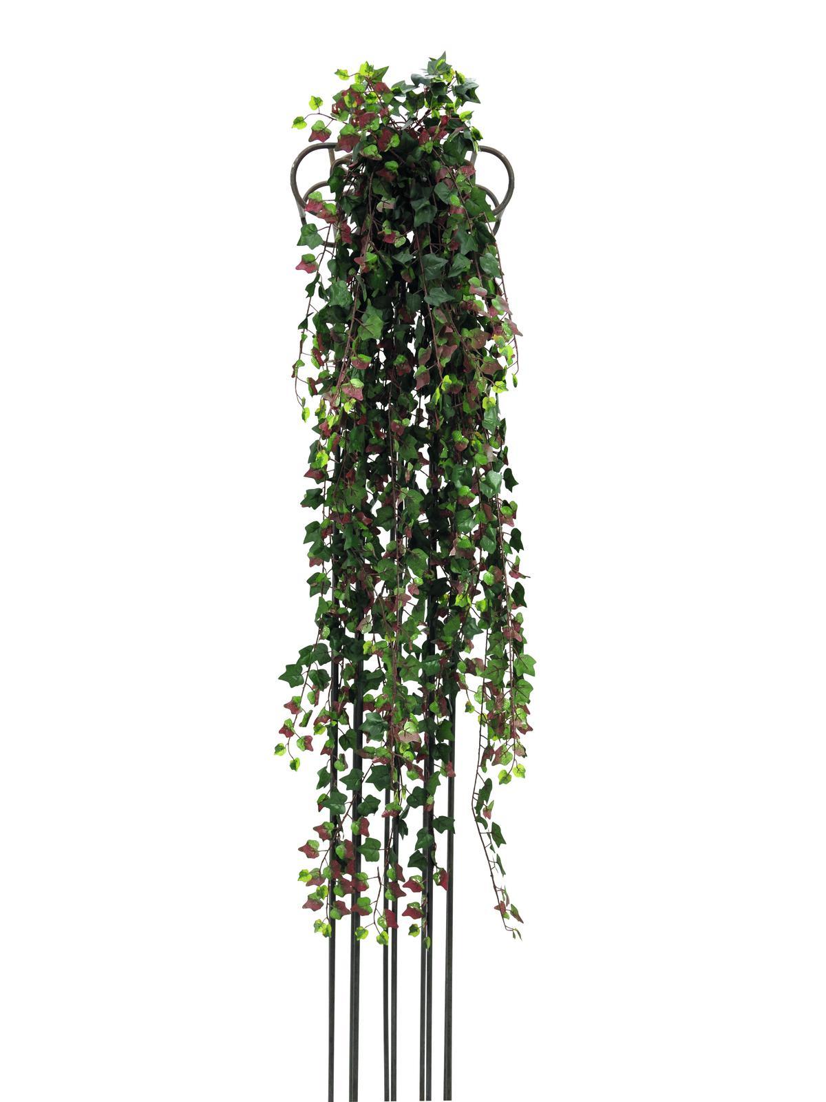 Billede af Kunstig Deluxe ivytendril, green-red 160cm
