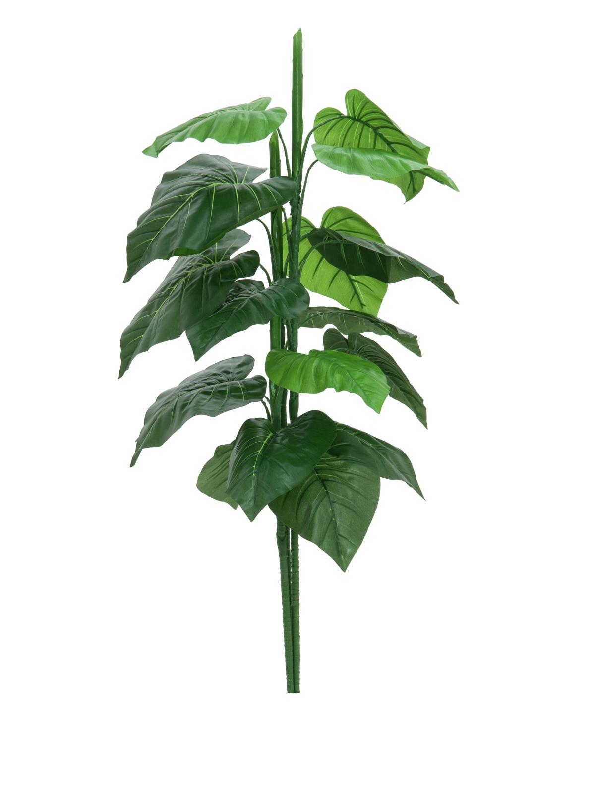 Billede af Kunstig Caladium Plante, 90cm
