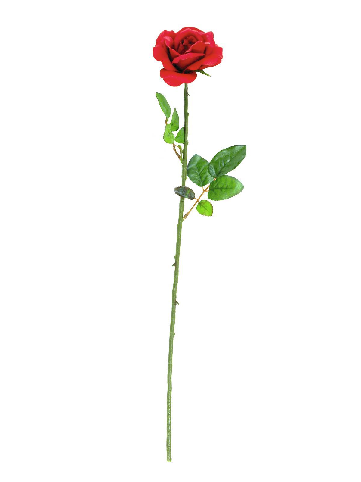 Billede af Kunstig Rose, Rød