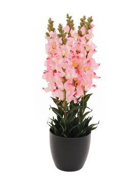 Billede af Kunstig Antirrhinum, rosa, 65cm