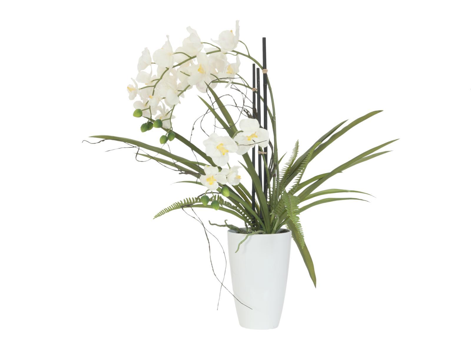 Billede af Kunstig Orkide i potte