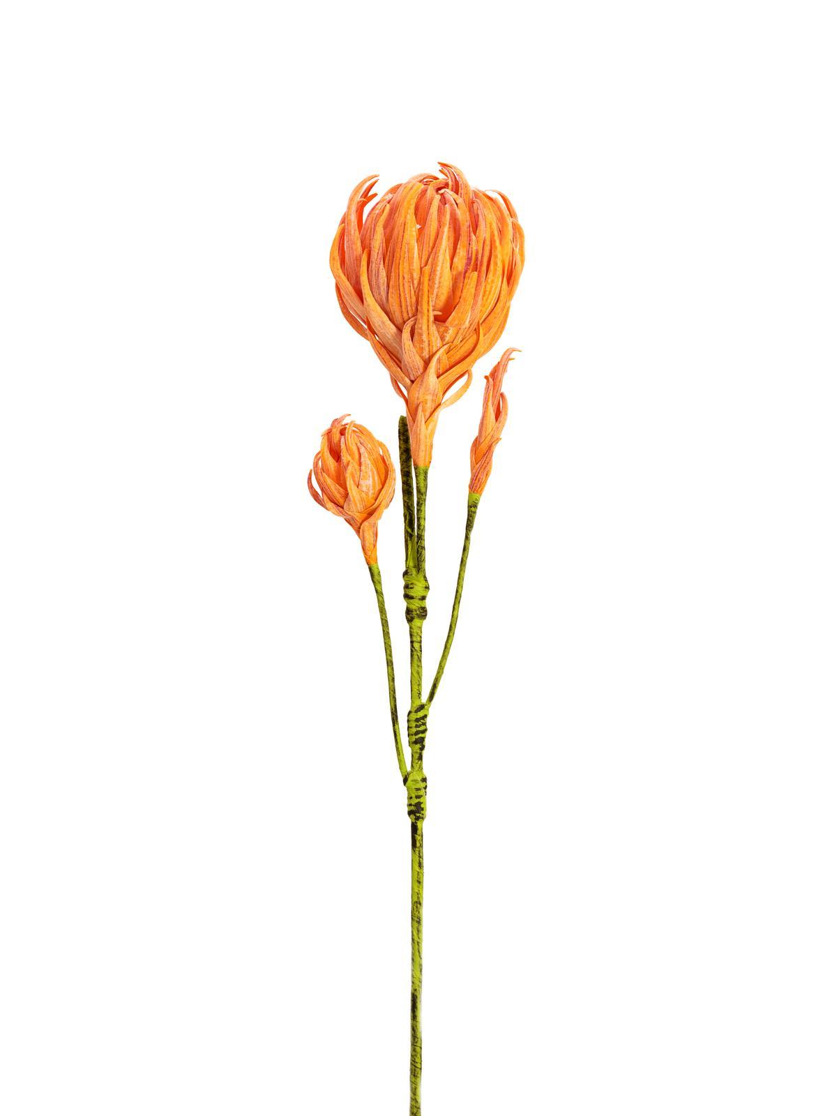 Billede af Kunstig Georgine Gren, Orange