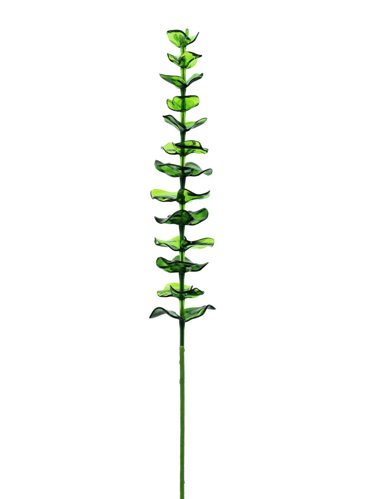 Billede af Kunstig Crystal eucalyptus, Grøn, 81cm, 12stk