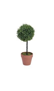 Billede af Kunstig Grass ball tree, PE, 39cm