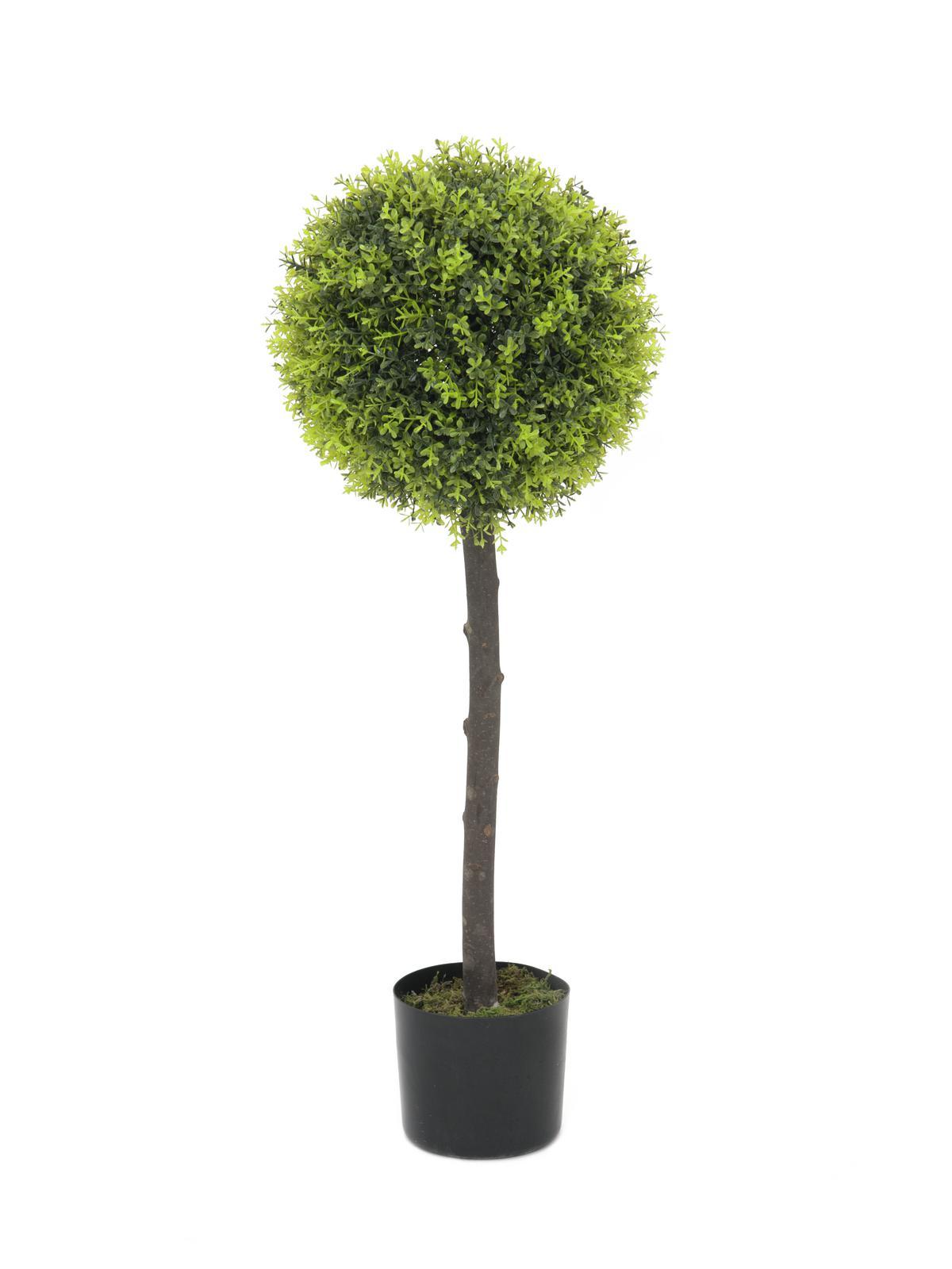 Billede af Kunstig Boxwood tree, 90cm