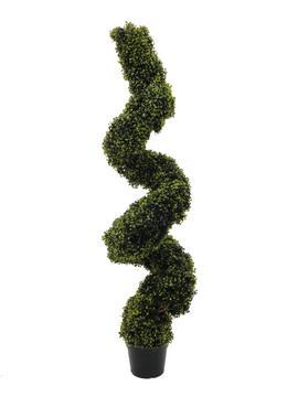 Billede af Kunstig Boxwood spiral, 180cm