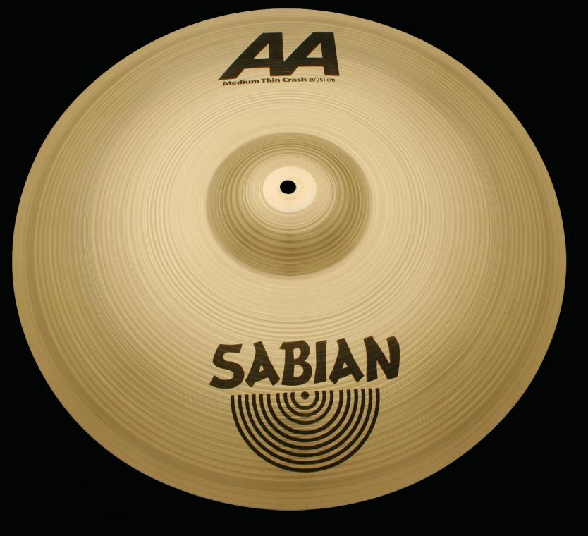 """Billede af Sabian 16"""" å Medium Thin Crash"""