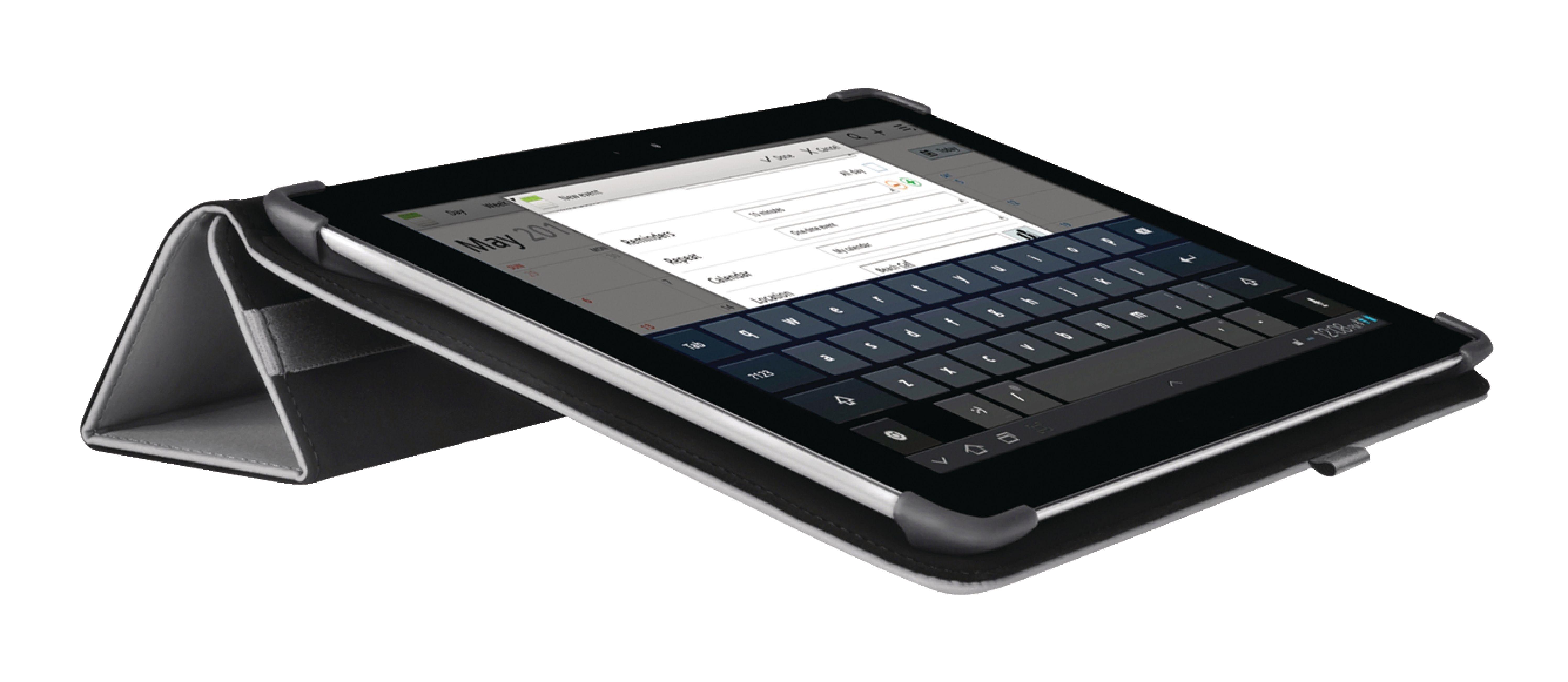 """Billede af Tablet Folie Samsung Galaxy Tab 2 10.1"""" Sort"""