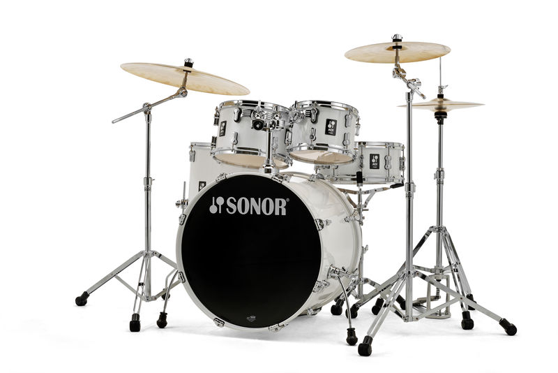 Billede af Sonor AQ1 Stage Trommesæt Piano White