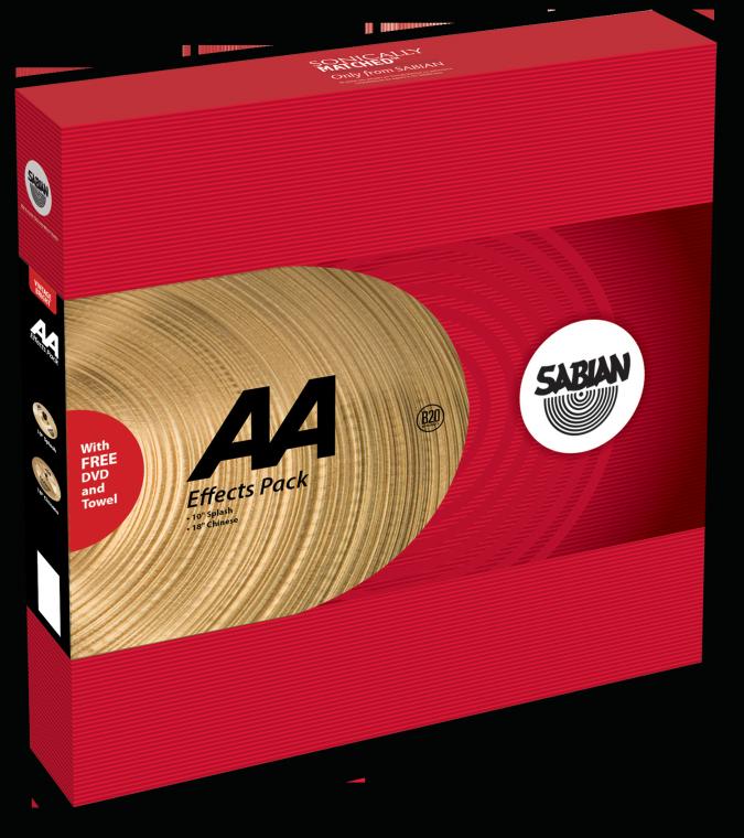 Billede af Sabian å Effects Pack Bækkenpakke