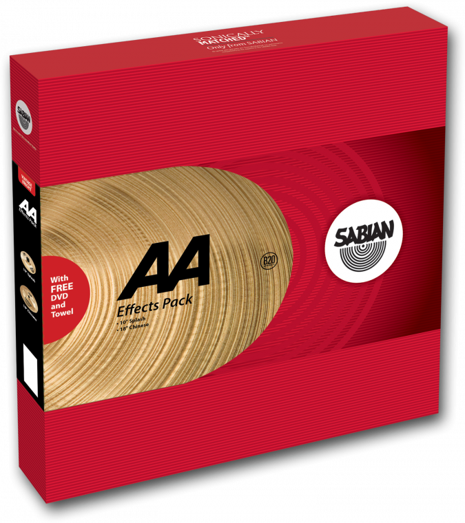 Image of   Sabian å Effects Pack Bækkenpakke