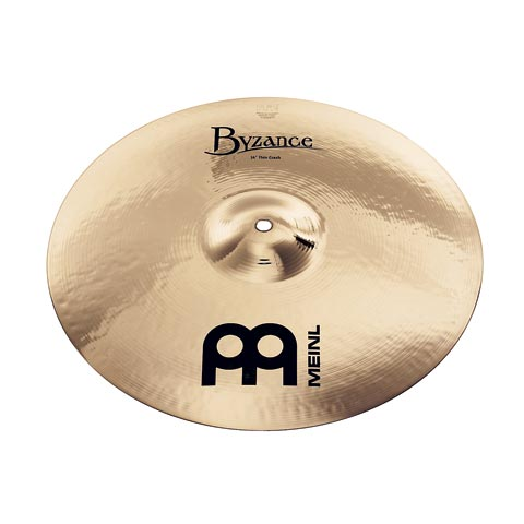 "Billede af Meinl 17"" Byzance Brilliant Medium Thin Crash"