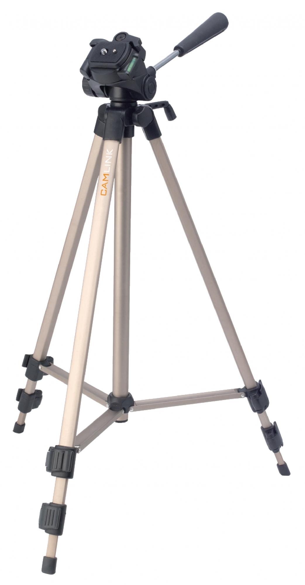 Billede af Kamera/video stativ vipbar, 127 cm. bronze