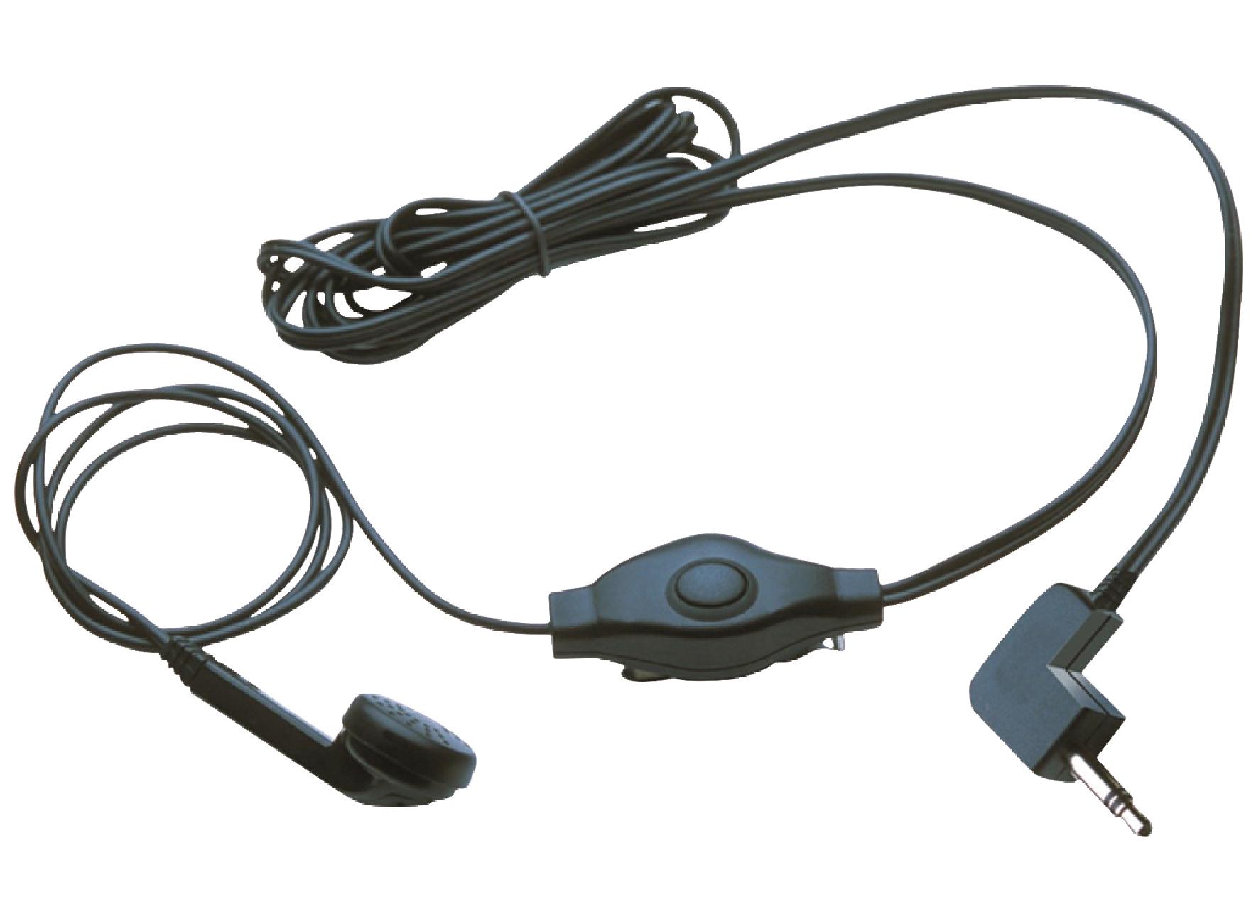 Image of   Headset In-ear 2.5 mm Indbygget Mikrofon Sort