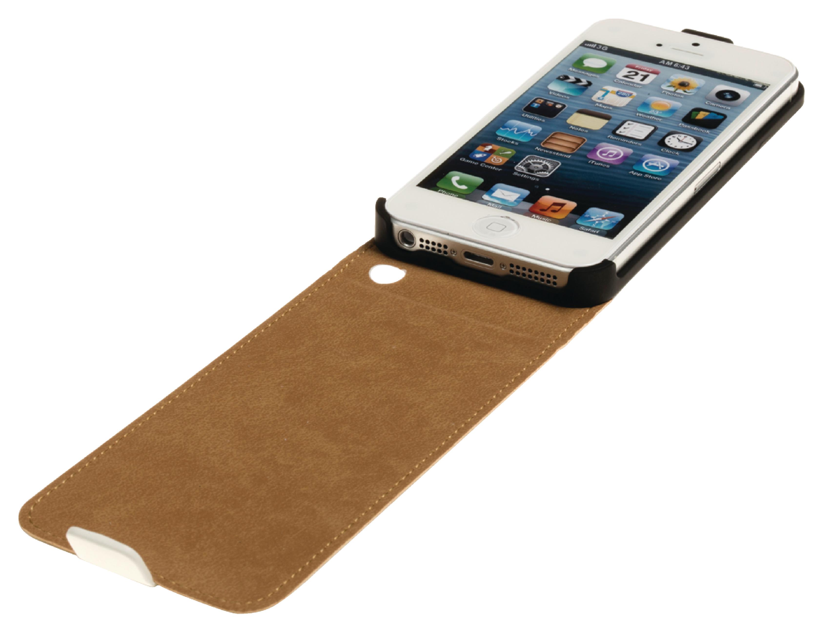 Image of   Telefon Flip-Etui Apple iPhone 5s Hvid