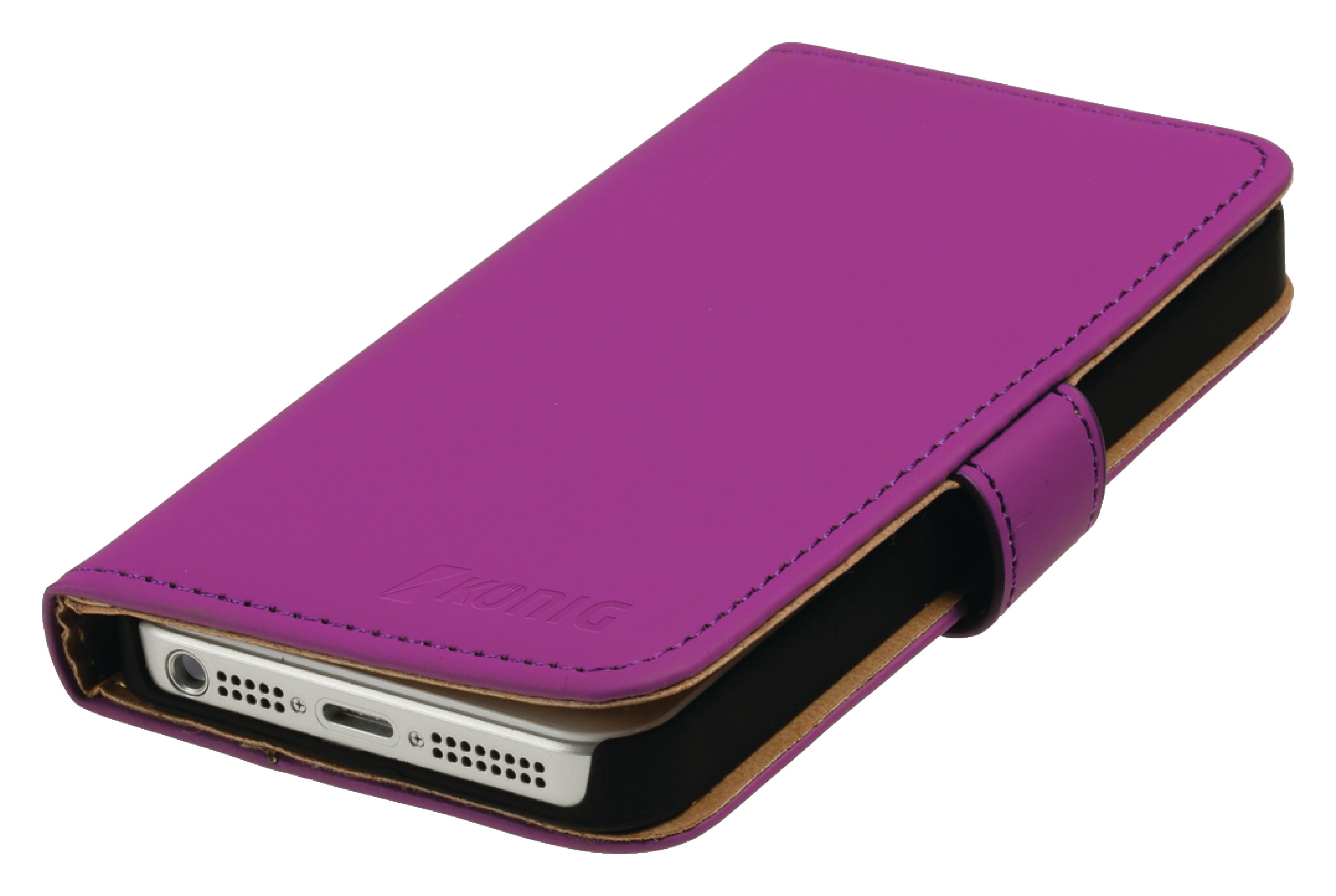 Image of   Telefon Tegnebogsetui Apple iPhone 4s Pink