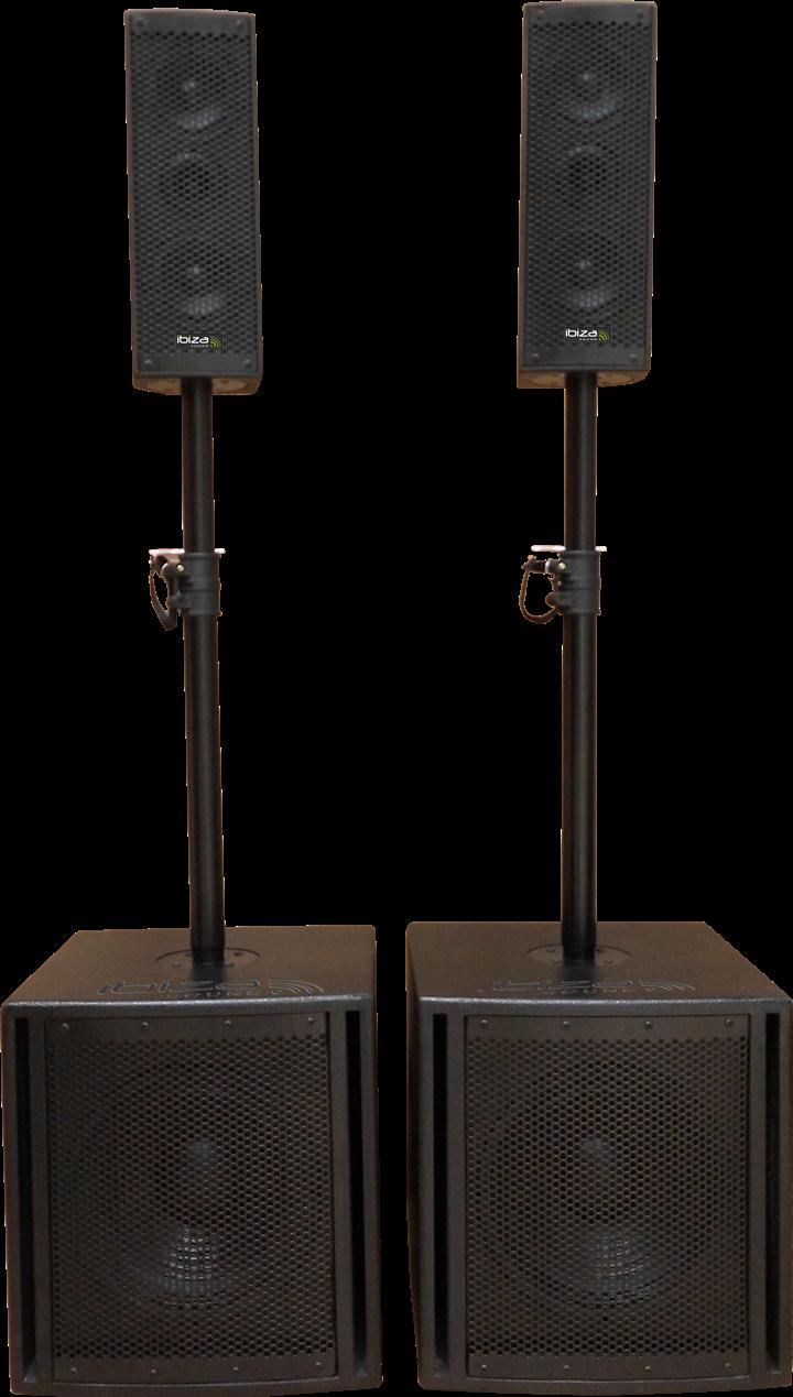 Billede af Ibiza aktiv lydsystem 2.2, 1200W