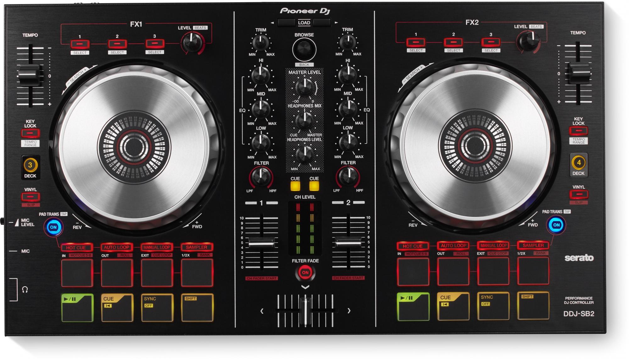 Billede af Pioneer DDJ-SB2 DJ Controller