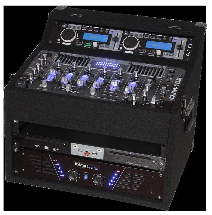 Image of   POWERED DJ STATION 2X480W