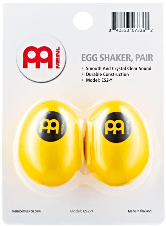 Billede af MEINL ES2-Y Egg Maracas (2)