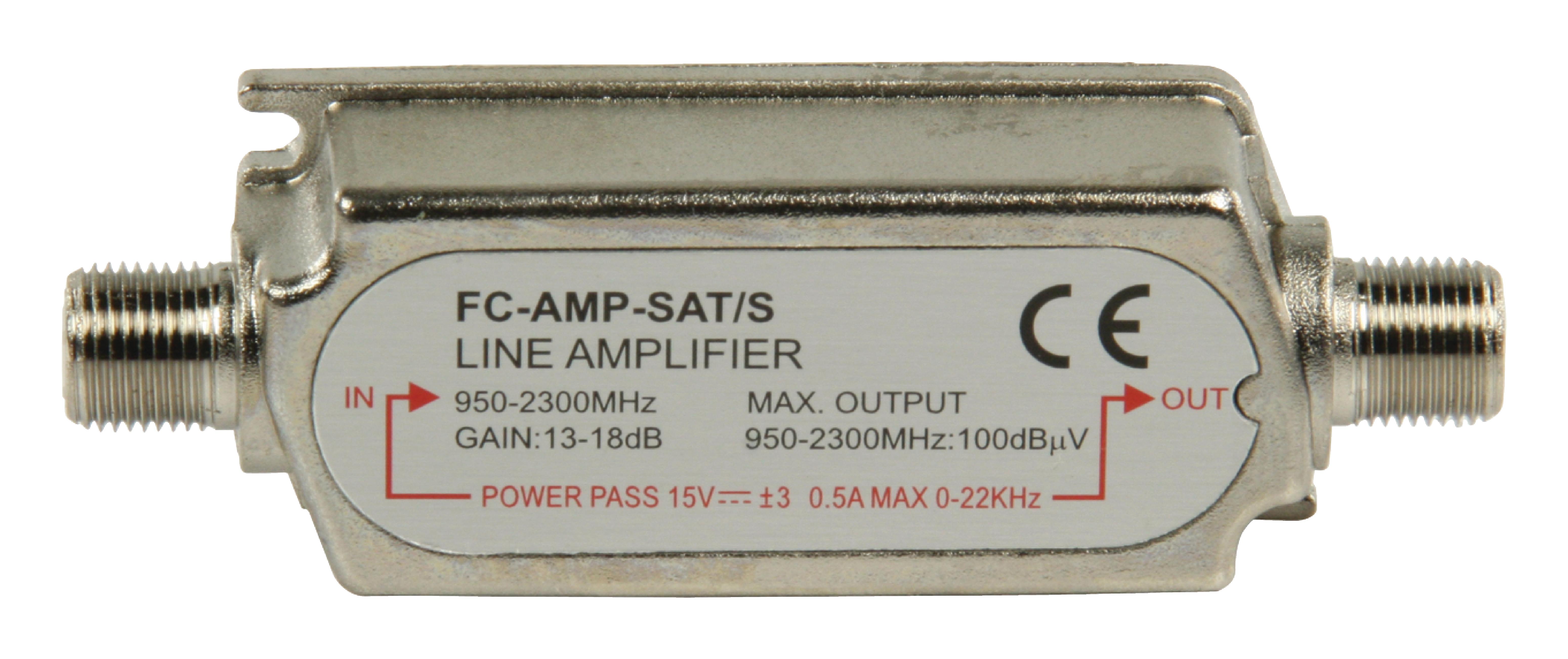 Billede af Satellite In-Line Forstærker 18 dB 950-2300 MHz