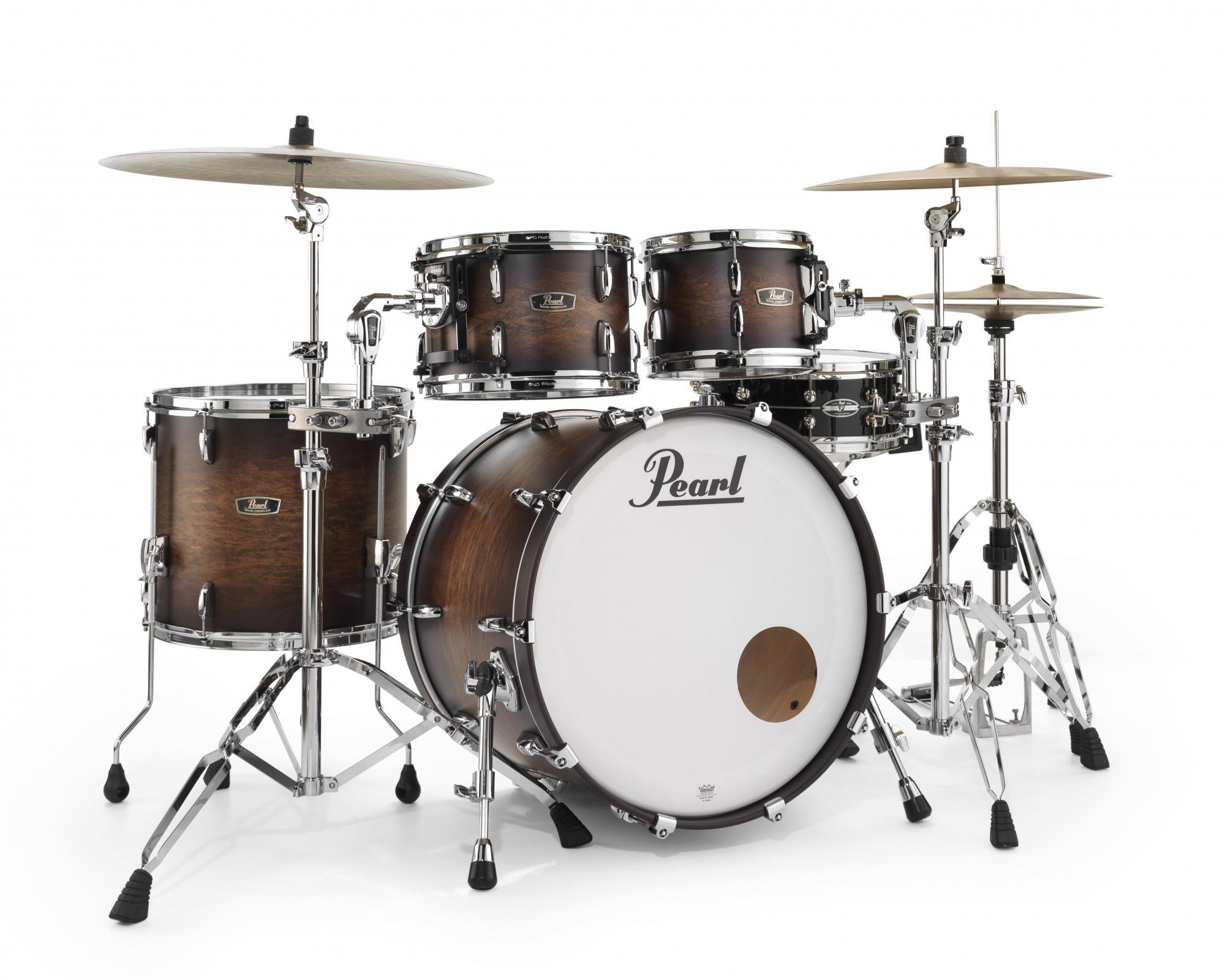 Billede af Pearl Wood Fiberglass Standard Trommesæt DEMO