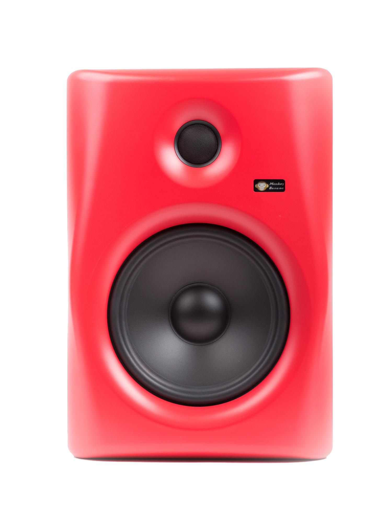 Billede af Monkey Banana Gibbon 8 studie højttaler, rød