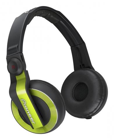 Billede af Pioneer HDJ-500 DJ hovedtelefoner Grøn