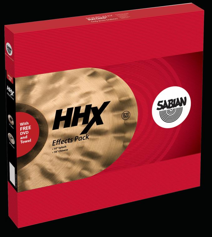 Billede af Sabian HHX Effects Pack Bækkenpakke