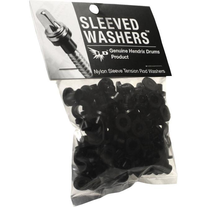 Billede af Hendrix Sleeved Washers 100 stk Sort