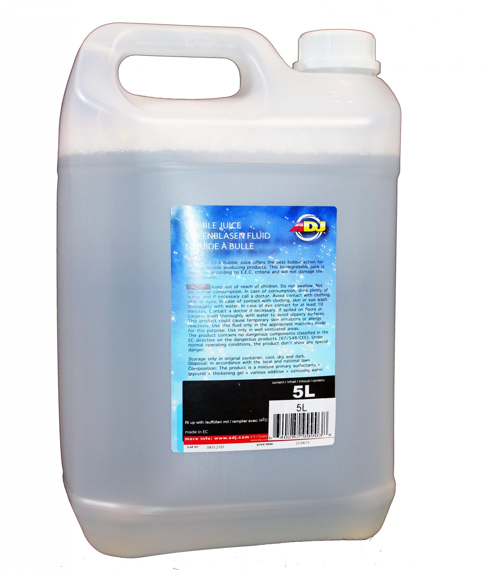 Billede af ADJ sæbeboble væske 5 liter