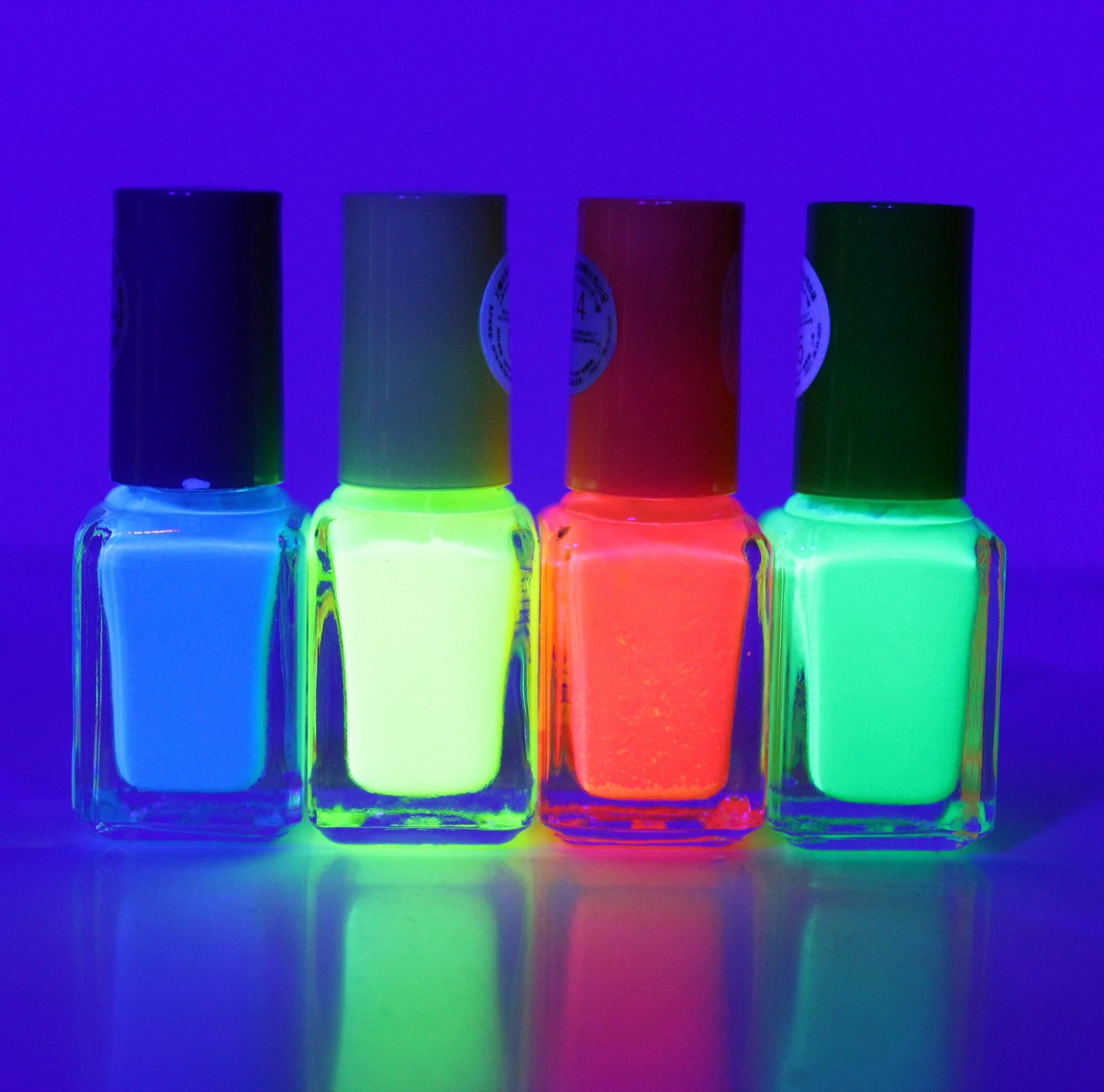 Billede af Selvlysende neglelak Pakke