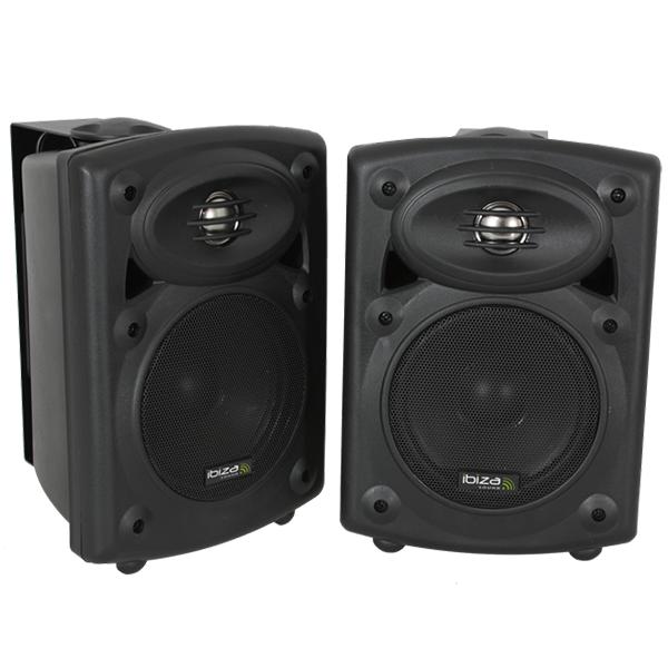 Billede af Ibiza Sound aktiv højttalersæt med bluetooth, 80W