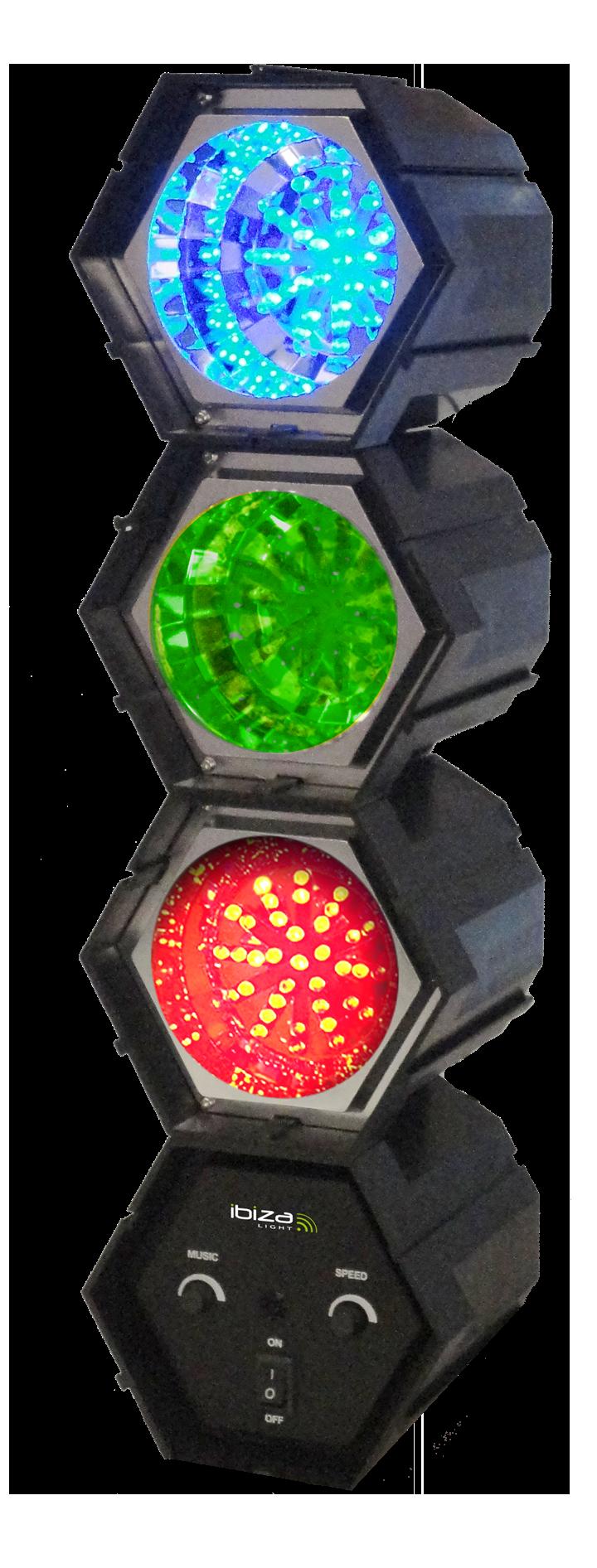 Billede af Ibiza 3-Pod LED lyseffekt