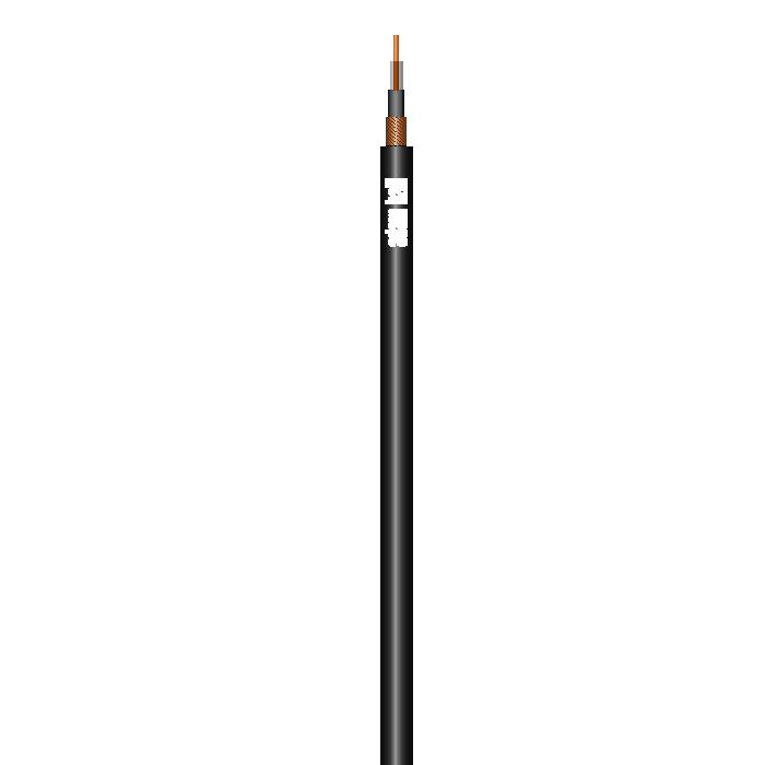 Billede af Instrument Kabel 1 x 0,22 mm² Sort