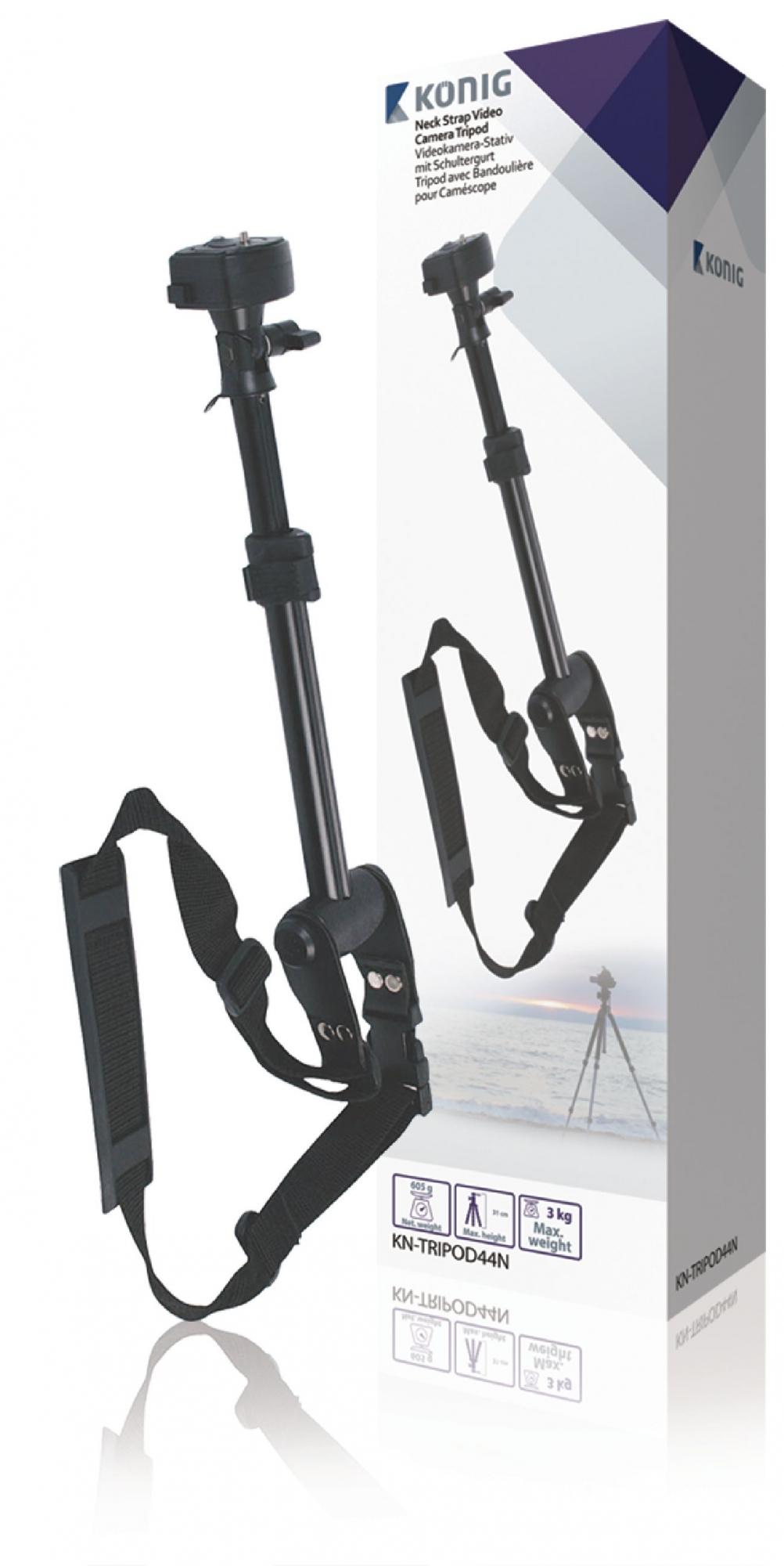 Billede af Kamera/video, ét-fods stativ, 31 cm. sort