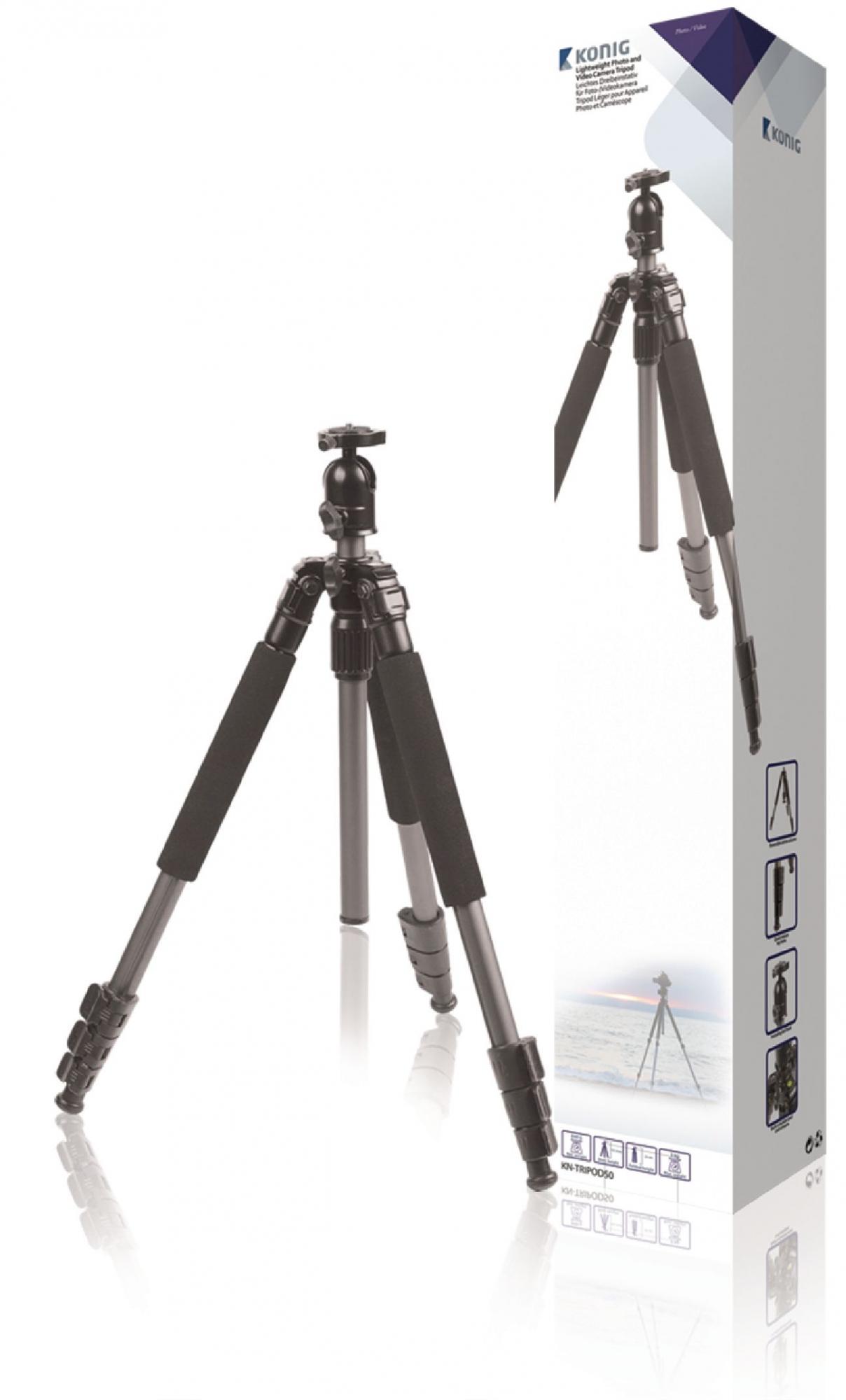 Billede af Kamera/video stativ hoved, 131.50 cm. sort