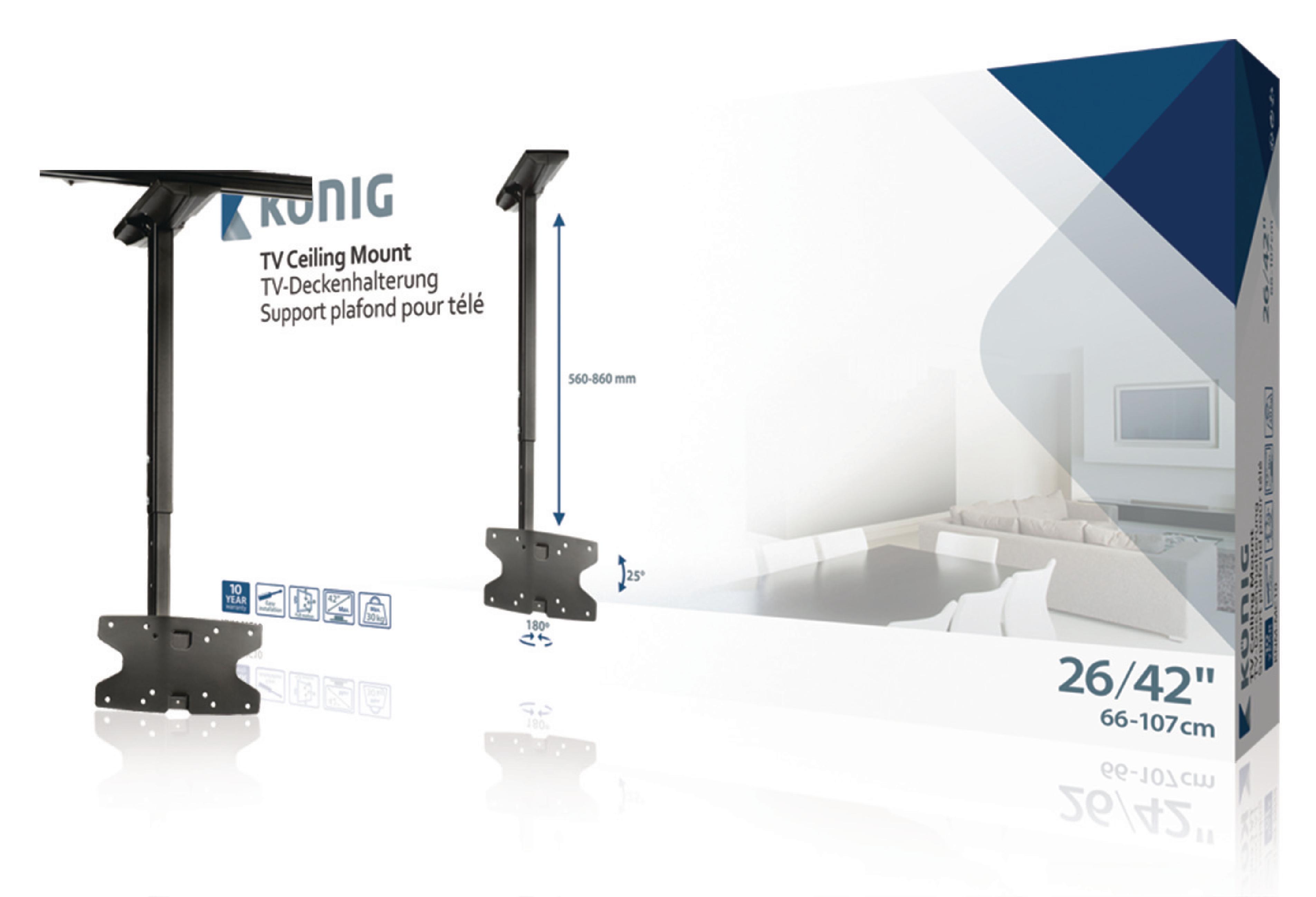 """Image of   Tv-Loftbeslag Fuldt Bevægeligt 26 - 42 """" 30 kg"""