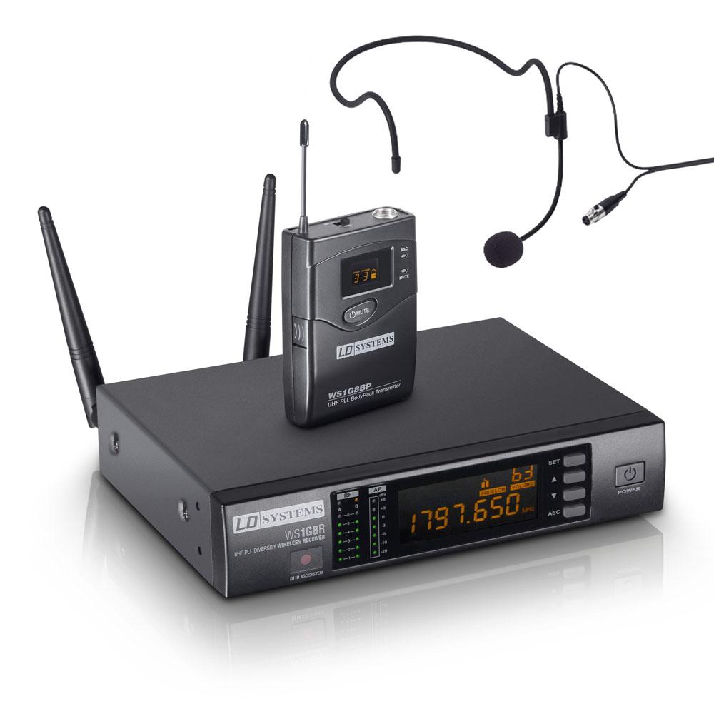 Billede af LD Systems WS 1G8 BPH Trådløs Headset mikrofonsæt