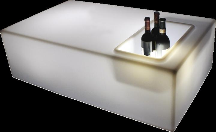 Image of   Hjemmebar med LED lys