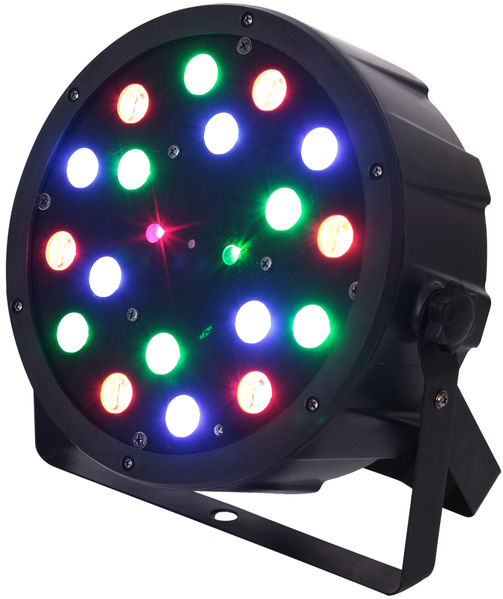 Billede af LED PAR CAN WITH RED+GREEN LASER