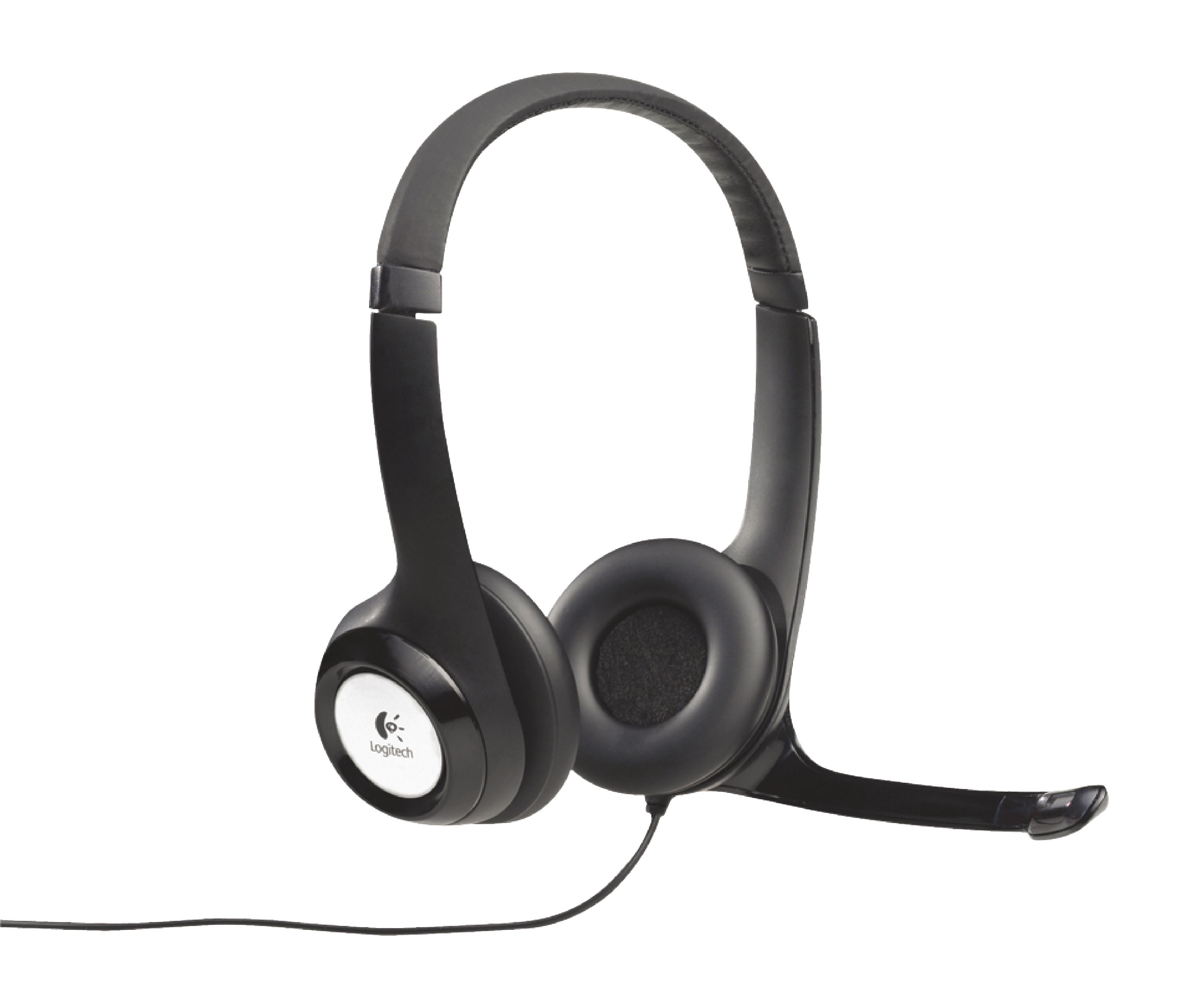 Image of   Headset ANC (Active Noise Cancelling) On-Ear USB Kabel Indbygget Mikrofon 2.4 m Sort