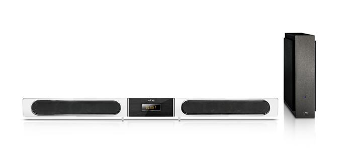 Billede af LTC soundbar med trådløs bas, 120W PMPO
