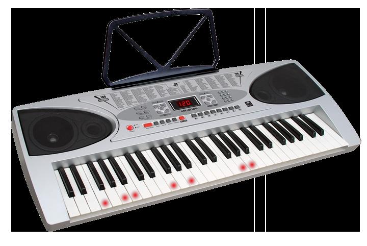Billede af Ibiza 54-key elektronisk keyboard