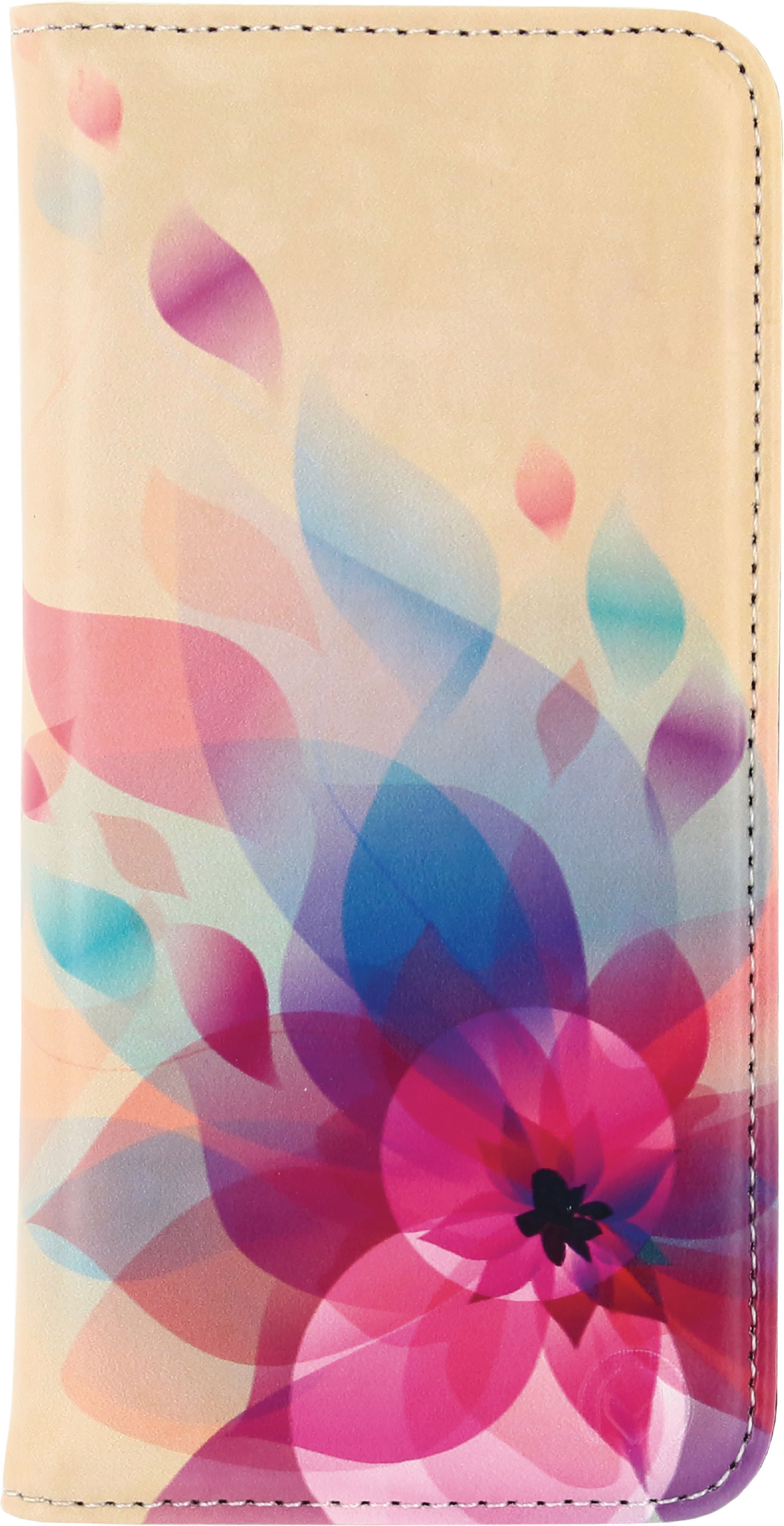 Image of   Telefon Premium Bogetui med Magnet Samsung Galaxy S6 Edge Flowers